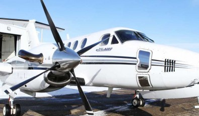 King Air B200 Ready for Medevac